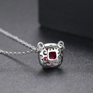 Beautiful Square Shape Pendant With Chain 6