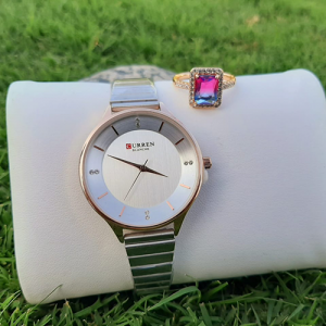 Beautiful Women Watch with Beautiful Ring Deal