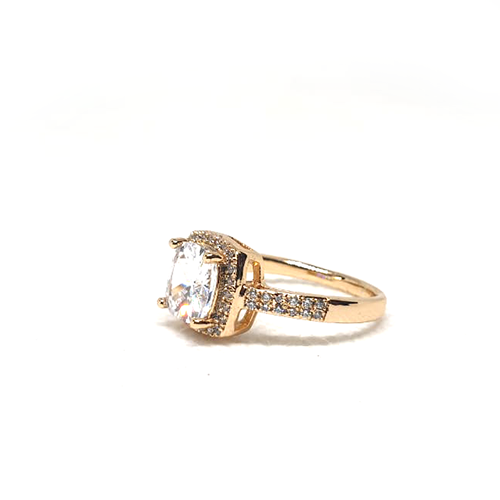 Crystal Square Stones Ring For Women (2)
