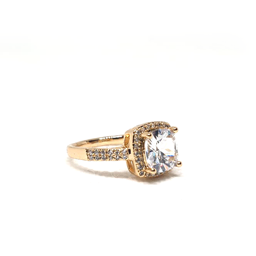 Crystal Square Stones Ring For Women(1250)