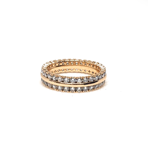 Goldplated Round Stones Ring(1200)