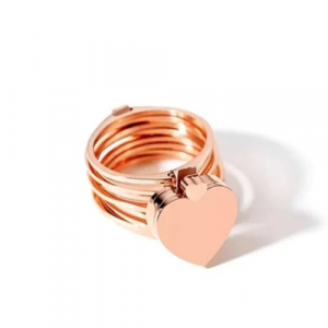 Retractable Rings With Hand Chain Magic Copper Dual Use For Women