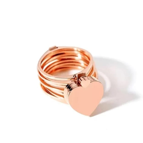 Retractable Rings With Hand Chain Magic Copper Dual Use For Women (1)