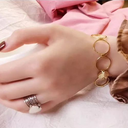 Retractable Rings With Hand Chain Magic Copper Dual Use For Women 3