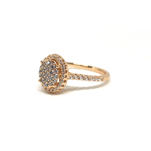Round Stones Goldplated Ring 2