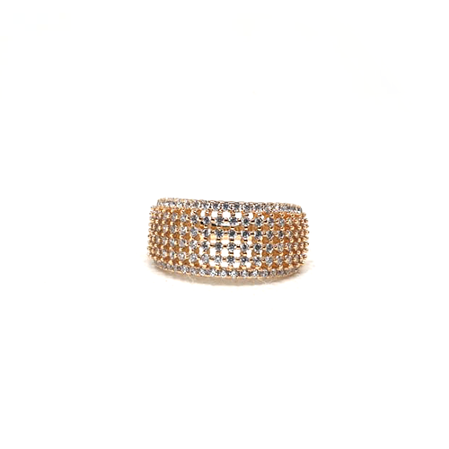 Stunning Goldplated Cage Style Stones Ring 4