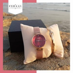 Copper Gold Watch Bracelet By Eshaal
