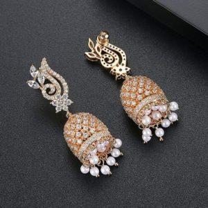Women's Gold Plated Earrings