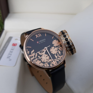 Black And Golden Watch with Ring Deal 2