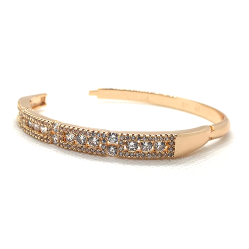 Goldplated Fancy Crystal Goldplated Bangle 2