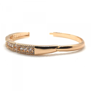 Goldplated Fancy Crystal Goldplated Bangle 4