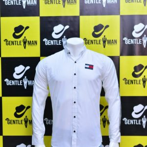 Stylish Tommy Hilfiger White Men Shirt
