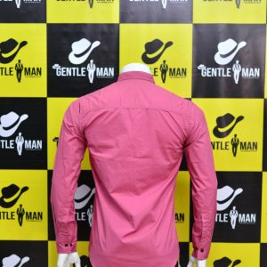Fashionable Pink Men Shirt