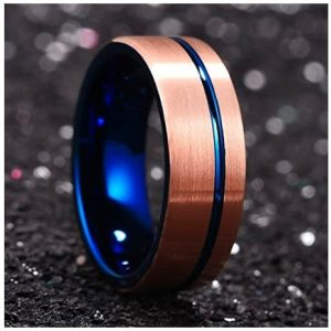Azure Bar – Tungsten Carbide Ring
