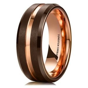Brown Way – Tungsten Carbide Ring