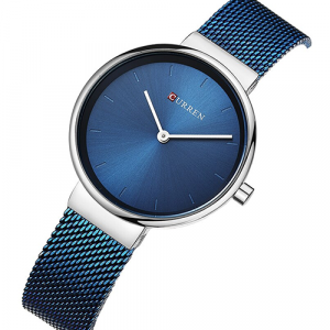 Curren Blue with Silver Women Watch2