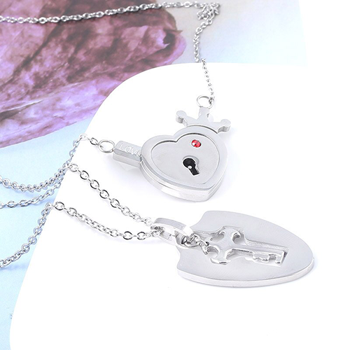 MIDY-Lovers-Jewelry-Crown-Love-Heart-Necklaces-Set-Key-Pendant-Stainless-Steel-Choker-Necklace-Couples-Valentine-(1)