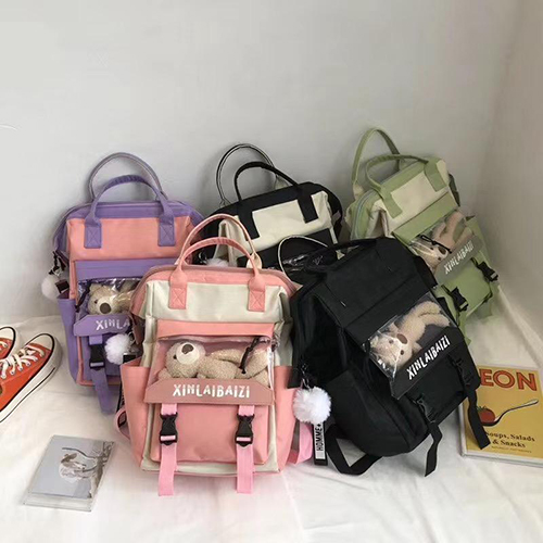 Backpack 5 in 1 with Teddy Toy 4