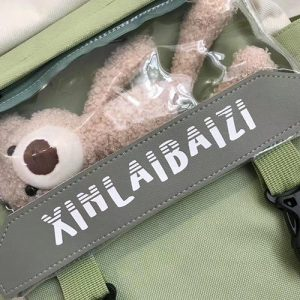 Backpack 5 in 1 with Teddy Toy 9