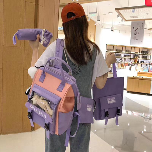 Backpack 5 in 1 with Teddy Toy