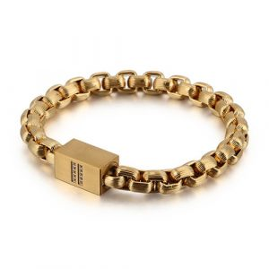 Goldplated Magnetic Stainless Steel Bracelet 4