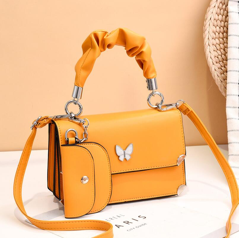 Red Butterfly New Ladies Messenger Small Bag Korean Style Small Fresh Shoulder Bag With Unique Design Female Bag Lady handbag 2