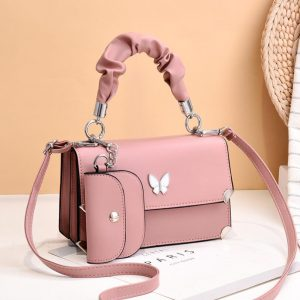 Red Butterfly New Ladies Messenger Small Bag Korean Style Small Fresh Shoulder Bag With Unique Design Female Bag Lady handbag 3