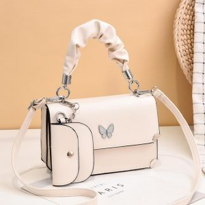 Red Butterfly New Ladies Messenger Small Bag Korean Style Small Fresh Shoulder Bag With Unique Design Female Bag Lady handbag 5