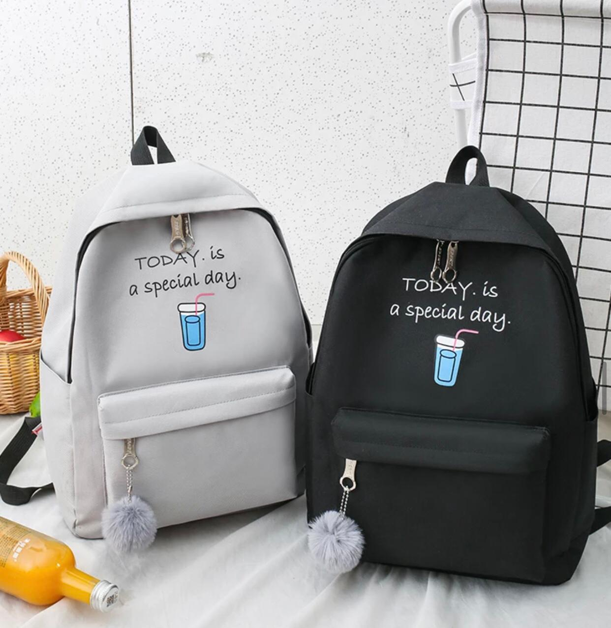 Eshaalfashion 4pcs Set Backpack FashionGb