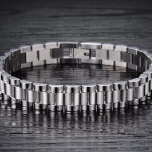 EshaalFashion Retro Stainless Steel Bracelet