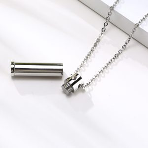 EshaalFashion Secret Chamber Pendant with Chain for Men and Women