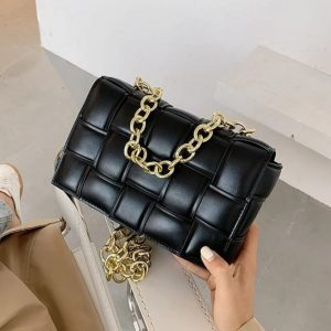Check Style Exclusive Soft Material Cross Body Bag